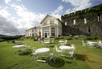 Brecon Castle Hotel in The Brecon Beacons