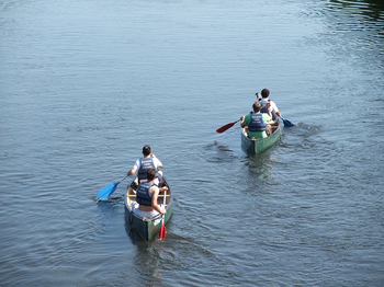Canoe Hire on the Wye